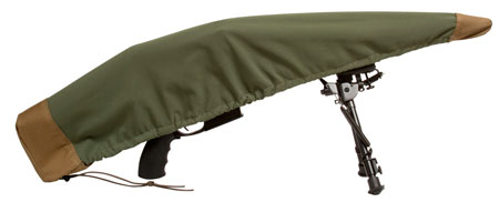 Sentry 19DC03MG Armadillo Rifle Cover Green|Tan 48L x 7 in. H in.