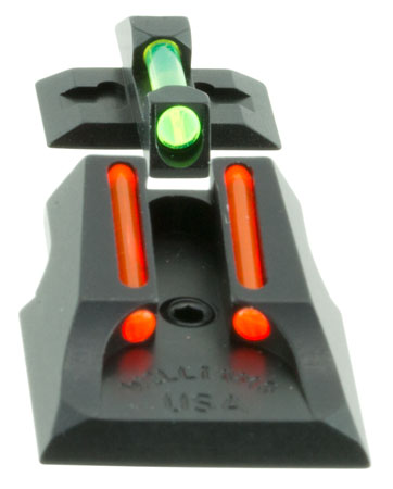 Williams 70993 FireSight Pistol S&W Bodyguard Aluminum Green Aluminum Red Black