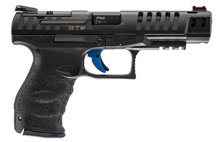 Walther Arms 2813336 Q5 Match 9mm Luger Double 5 10+1 Black Polymer Grip|Frame Grip Black Tenifer Slide in.