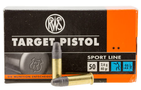 Walther Arms 2132710 22 Long Rifle 40 GR Lead Round Nose 50 Bx| 1 Cs