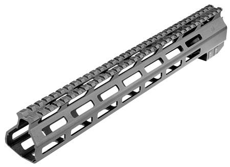 Aim Sports MTMM02 AR15 M-Lok Handguard 13.5 Picatinny 6061-T6 Aluminum Black Anodized in.