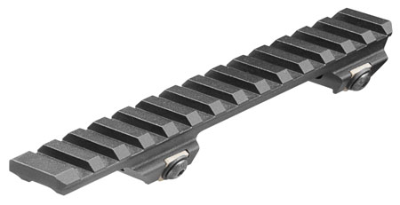 Aim Sports MRB005 Scope Mount For Ruger Mini-14|Mini-30 1-Piece Style Black Hard Coat Anodized Finish