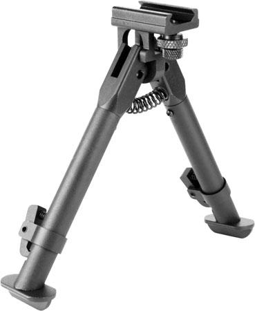 Aim Sports BPARSS AR Rail Mount Bipod Matte Black 6.5-9