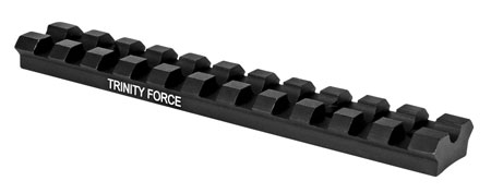 Trinity Force MN1022NB Dovetail| Weaver Rail For Ruger 10-22 1-Piece Style Black Hard Coat Anodized Finish