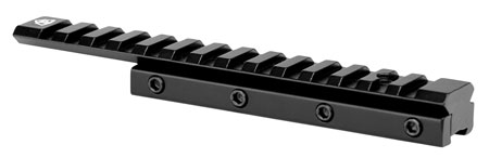 Trinity Force MN22DGB Dovetail| Weaver Rail For AR Dovetail Style Black Hard Coat Anodized Finish