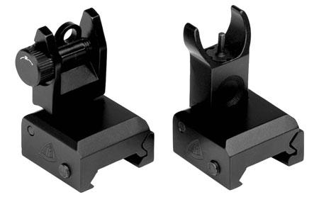 Trinity Force FS72 QF B.U,S. Set AR-15 Black Hard Coat Anodzied Aluminum|Steel