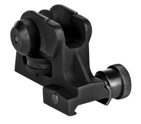 Trinity Force FS66 AR Match Rear Sight AR-15 Black Hard Coat Anodized Aluminum|Steel