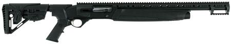 Hatfield USA12T SAS Semi-Automatic 12 Gauge 20 3 in.  4+1 5-Position Adjustable Synthetic w|Pistol Grip Black in.