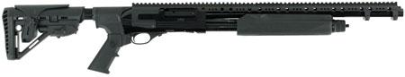 Hatfield USP12T PAS Pump 12 Gauge 20 3 in.  4+1 5-Position Adjustable Synthetic w|Pistol Grip Black in.