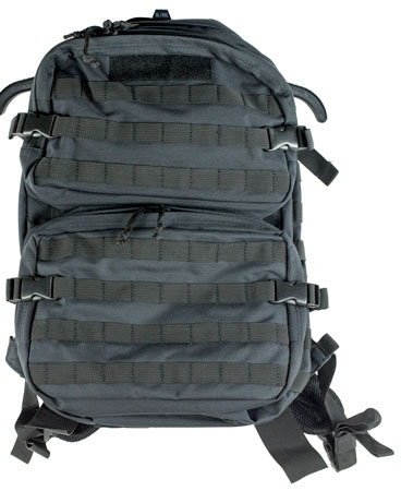 Sandpiper of California 7031-O-BLK Short Range Bugout Gear Pack Backpack 600 Denier 20 x 14 in.  x 8 in.  Black in.