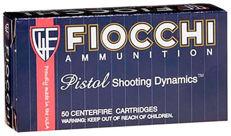 Fiocchi 9APC Shooting Dynamics 9mm 124 GR FMJ Truncated Cone 50 Bx| 20 Cs