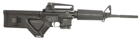 Stag Arms SA1FLD Model 1FL Featureless Semi-Automatic 223 Remington|5.56 NATO 16 10+1 Hera CQR Featureless Black Stk Black in.