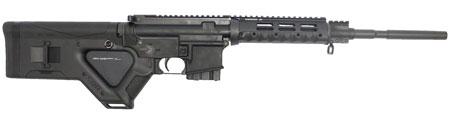 Stag Arms SA3FLD Model 3FL Featureless Semi-Automatic 223 Remington|5.56 NATO 16 10+1 Hera CQR Featureless Black Stk Black in.