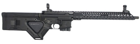 Stag Arms SA3TFLD Model 3TFL Featureless Semi-Automatic 223 Remington|5.56 NATO 16 10+1 Hera CQR Featureless Black Stk Black in.