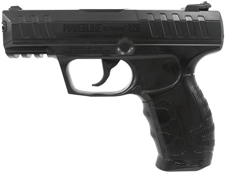Daisy 980426442 Powerline Air Pistol Semi-Automatic .177 BB Black