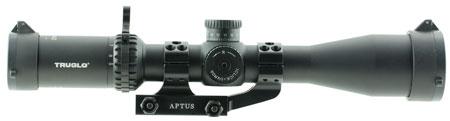Truglo TG8539TLR Eminus 3-9x 42mm Obj 33.12-11.7 ft @ 100 yds FOV 30mm Tube Black Hardcoat Anodized Illuminated TacPlex