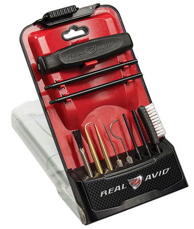 Real Avid|Revo AVGBPROPCT Gun Boss Pro Precision Cleaning Tool  Cleaning Kit Universal 11