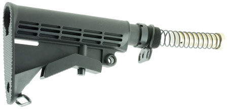 Aim Sports ARSTKCC AR Rifle Collapsible Stock Aluminum|Polymer Black