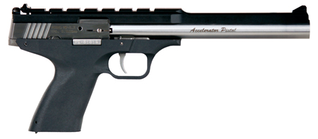 Excel EA22301 Accelerator Pistol MP-22 Double 22 Winchester Magnum Rimfire (WMR) 8.5 9+1 Blk Polymer Grip SS in.
