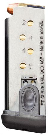 Taurus 510180 Taurus 380 Curve 380 Automatic Colt Pistol (ACP) 6 rd Black Finish