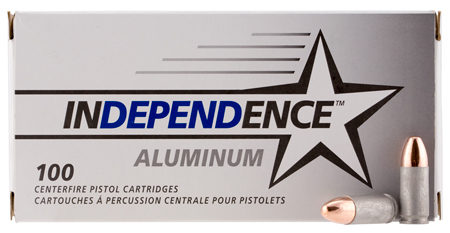 CCI IAL9115100 Independence 9mm Luger 115 GR Full Metal Jacket 100 Bx| 5 Cs