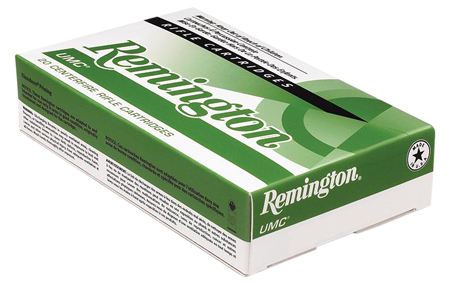Remington Ammunition L223R8V UMC 223 Remington|5.56 NATO 50 GR Jacketed Hollow Point 20 Bx| 10 Cs