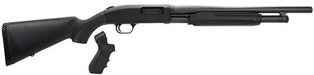 Mossberg 50521 500 Special Purpose *Exclusive* Pump 12 Gauge 18 CB 3 in.  5+1 Synthetic w|Pistol Grip Kit Black Stk Black Parkerized in.