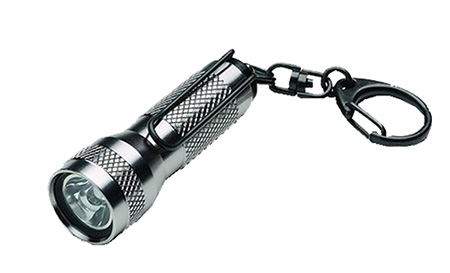 Streamlight 72101 KeyMate Flashlight White LED 10 Lumens LR44 (4) Aluminum Titanium