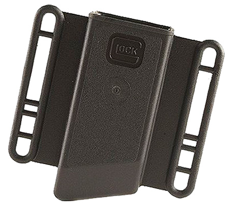 Glock MP13080 Large Magazine Pouch 10mm|45ACP Universal for Glock Holster Polymer Black