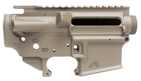 Aero Precision APCS100008S AR-15 Stripped Receiver Set AR-15 AR Platform Multi-Caliber Flat Dark Earth Cerakote