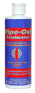 Wipeout WAC800 Wipeout Bore Cleaner Accelerator 8 oz