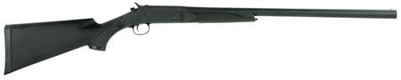 Stevens 22557 301 Single Shot Break Open 12 Gauge 26  Synthetic Black Stk Carbon Steel in.