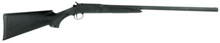 Stevens 22558 301 Single Shot Break Open 20 Gauge 26 Black Synthetic Stk Carbon Steel in.