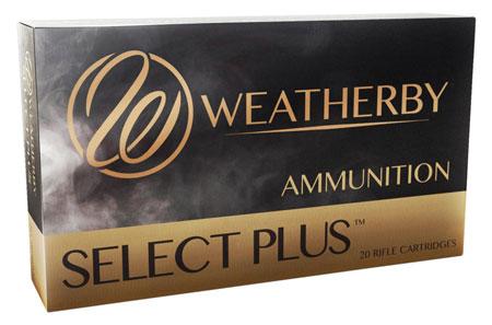 Weatherby B65RPM127LRX Select Plus 6.5 WBY RPM 127 gr Barnes LRX Lead Free 20rd Box