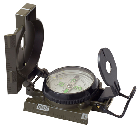 Humvee Accessories HMVCOMPASSOD Military Compass Military Compass Olive Drab