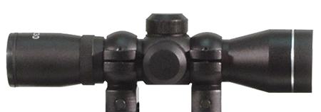 Hi-Point 4XSCOPE 995 4x 32mm Obj 34 ft @ 100 yds FOV 1 Tube Black Duplex in.