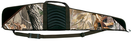 Bulldog BD205 Pinnacle  44 Scoped Rifle Case Nylon Realtree AP Camo w|Brown Trim and Black Leather in.