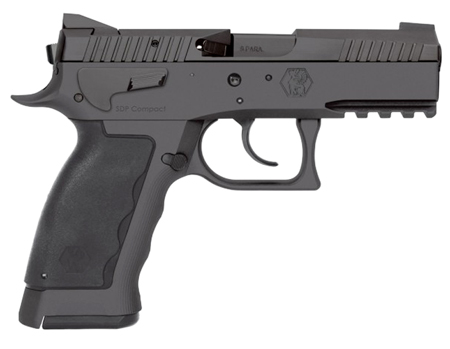 Kriss USA WSDCME084 Sphinx SPD Compact Single Double 9mm 3.7 10+1 Blk Polymer Grip in.