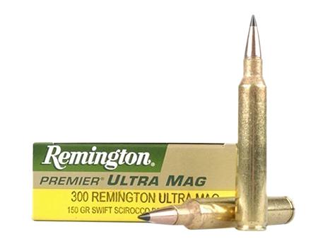 Rem Ammo PR300UM3 Premier 300 Rem Ultra Mag SSB 180 GR 20Box|10Case
