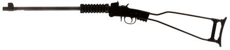 Chiappa Firearms 500145 Little Badger Single Shot Break Open 17 Hornady Magnum Rimfire (HMR) 16.5 Metal Wire Underfolding Stk Blk in.