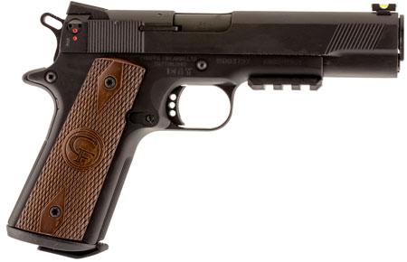 Chiappa Firearms 401101 1911 22 Custom SA 22LR 5 10+1 Walnut Grip Black in.