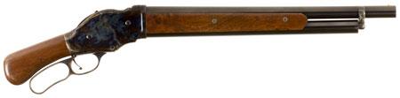 Chiappa Firearms 930019 1887 Mares Leg Lever 12ga 18.5 2.75 in.  Walnut Stk Color Case Hardened|Blued in.