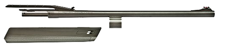 Winchester Guns 611108340 SX3 Rifled 12 Gauge 22 3 in.  Cantilever Scope Mount Blk TruGlo Fiber Optic Frnt in.