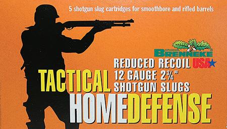 Brenneke 4205126 Tactical Home Defense 12ga Rifled Lead 2.75 1oz Slug 5 Bx|40Cs in.