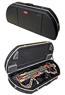 SKB 2SKBSC4117 Hybrid PL Bow Case 600D Nylon Soft Black 39 x 15 in.  x 5 in.  in.