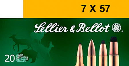 Sellier & Bellot SB757C 7mmX57mm Mauser SPCE 173 GR 20Box|20Case