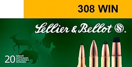 Sellier & Bellot SB308B Rifle Training 308 Winchester|7.62 NATO 180 GR FMJ 20 Bx| 25 Cs