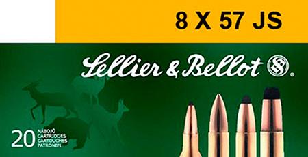 Sellier & Bellot SB857JRSA Rifle 8X57mm JRS 196 GR SPCE (Soft Point Cut-Through Edge) 20 Bx| 20 Cs