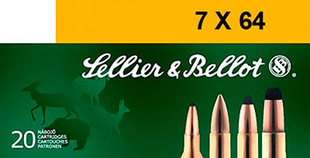 Sellier & Bellot SB764A Rifle 7X64mm Brenneke 139 GR Soft Point 20 Bx| 20 Cs