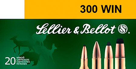 Sellier & Bellot SB300A Rifle Hunting 300 Win Mag 180 GR PTS (Plastic Tip Special) 20 Bx| 20 Cs